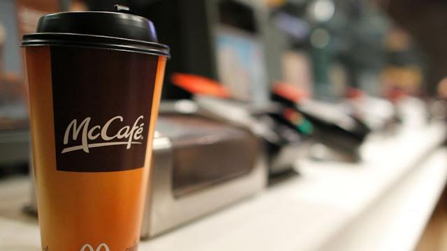 bezpłatna kawa mcdonald's 2013