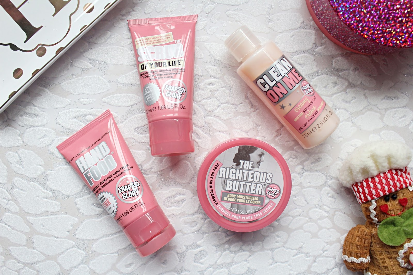 Soap and Glory Take Your Pink Gift Set