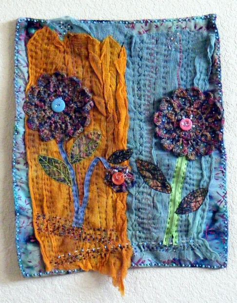 Textile Art Quilts Lynn In California Gossamer Spring