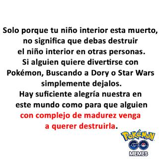 pokemon go tu niño interior no esta muerto no dejes que lo destruyan