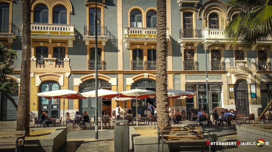 Espacio Rubens, Plaza de las Monjas, Huelva