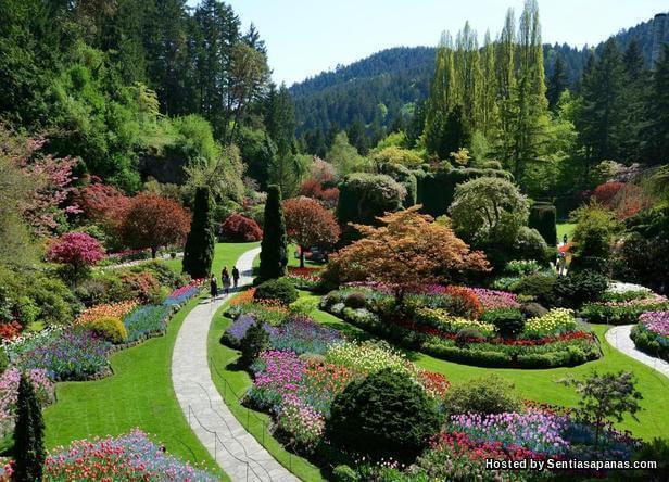 Butchart Gardens, Vancouver