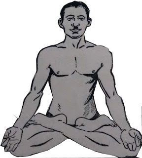 Padmasan or Lotus pose - Steps and Benefits