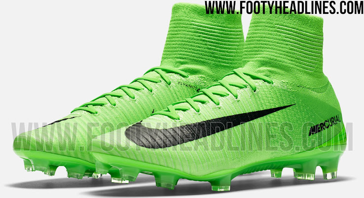6da1c783d061 The Nike Mercurial Superfly 2017 Radiation Flare pack introduces a fresh  design for Nike's speed boot in Electric Green and Black.