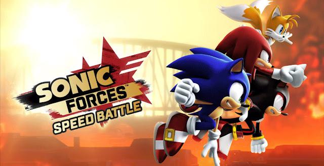 لعبة Sonic Forces: Speed Battle متوفرة الآن على هواتف أندرويد وآيفون