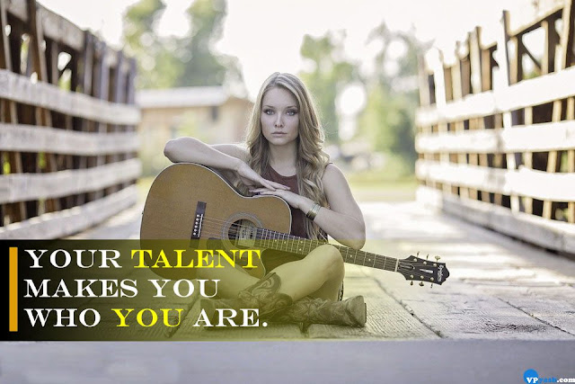Your Talent makes you who you are Walt Disney quote Inspiring Quotes