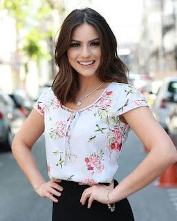 moda com blusa estampada