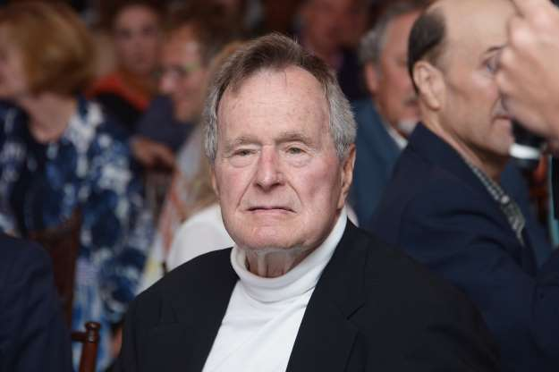 George H.W. Bush hospitalized in Maine after experiencing low blood pressure, fatigue, spokesman