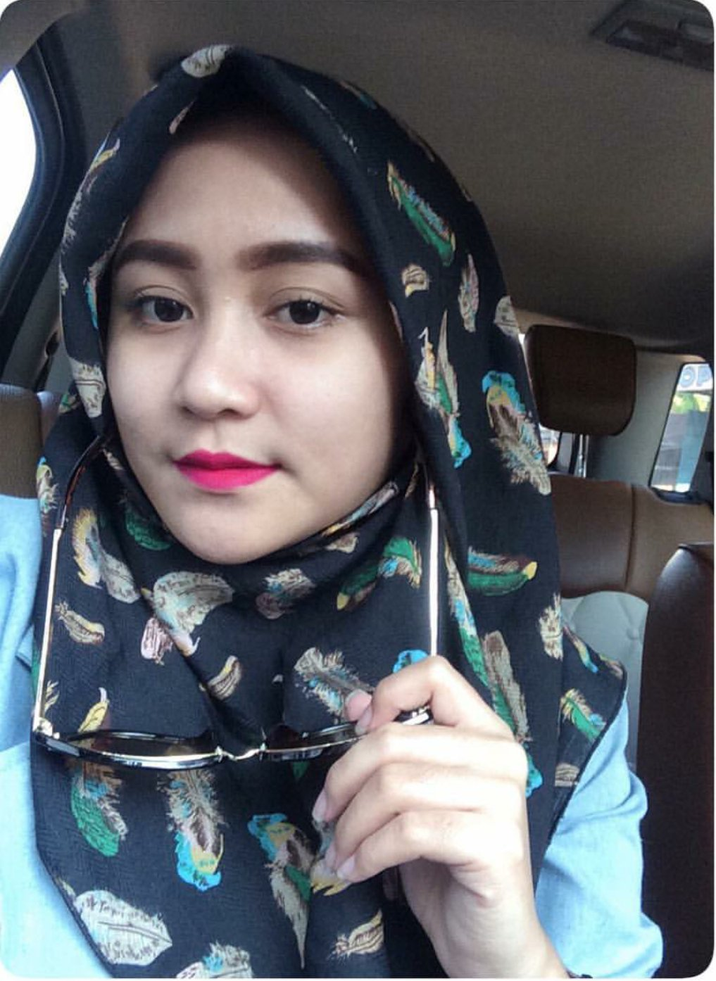 Hijab Seksi Cantiknya Mahasiswa Berhijab Foto Selfie-1803
