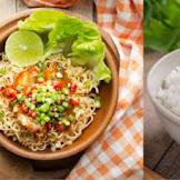 Mie Instan atau Nasi, Mana yang Lebih Cepat Membuat Gemuk?