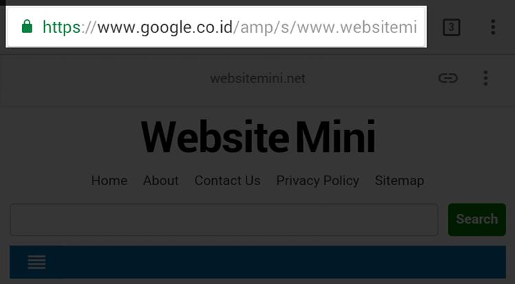 Google Akan Segera Tampilkan URL Asli Pada Halaman AMP