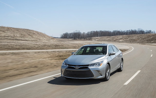 2015 Toyota Camry Silver