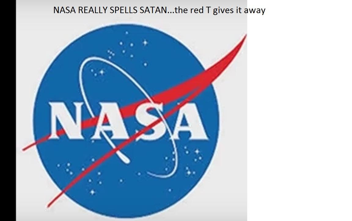 Nasa Logo spells satan