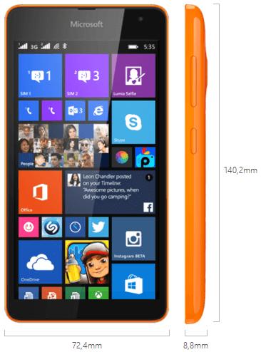 Harga Lumia 535, Lumia 535, Nokia, Spesifikasi lumia 535,