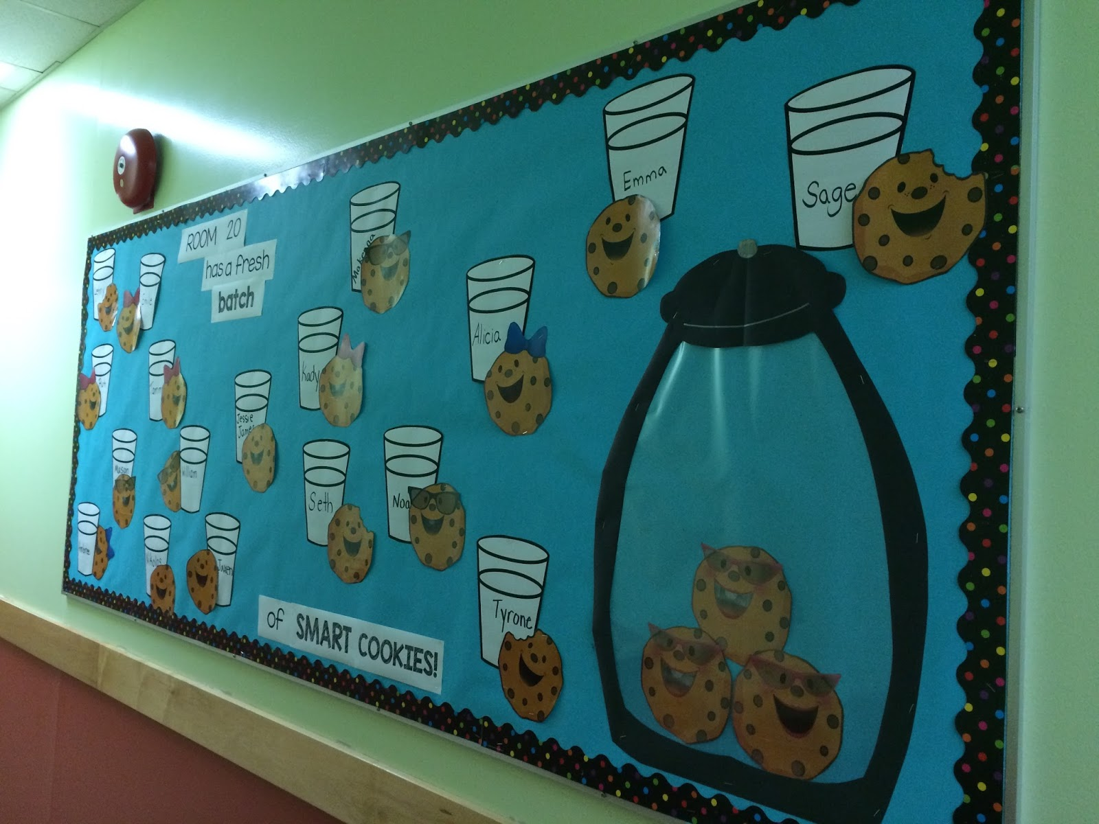 Classroom Bulletin Board Ideas For January ~ My classroom apple y ever after