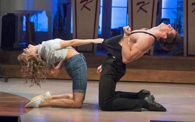 official production photography for Dirty Dancing