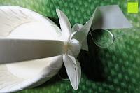 Schleife oben: Runde Elfenbein Satin bowknot Hochzeit Blumenmädchen Korb Blumenkinderkörbchen