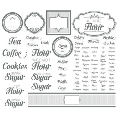 Stampingville: Digital Clockworks + Clips + Labels, Oh My!