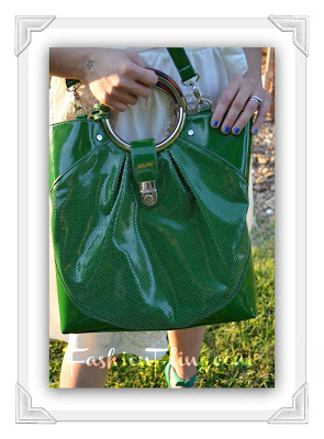 Not Only The Let It Shine North South Tote Is Gorgeously Green But Has A Roomy Interior That Easily Holds All Of My Essentialore