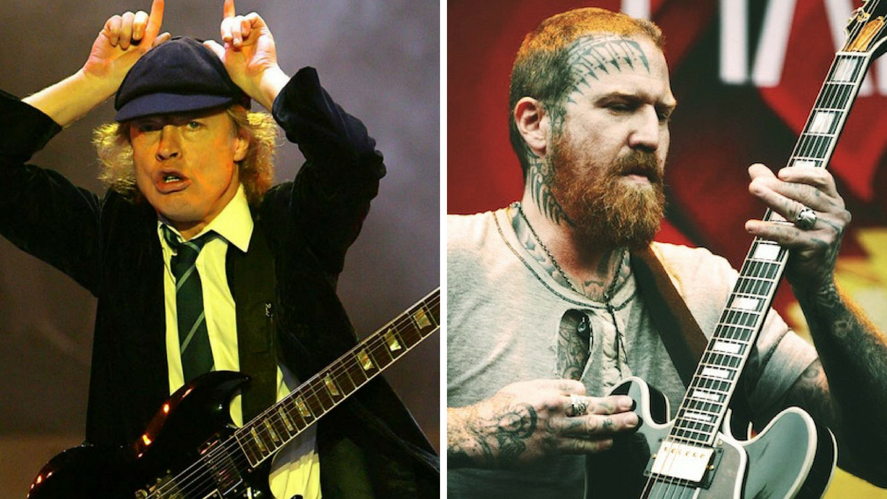 Angus Young Acdc Arremete Contra Brent Hinds Mastodon