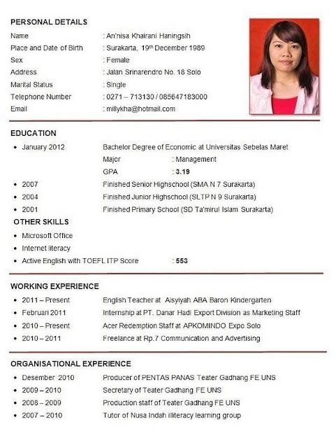 5 Contoh Surat Lamaran Kerja Staff Administrasi yang Baik dan Benar - Saturadar.com - Portal ...