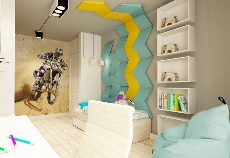 dormitorios juveniles con murales dormitorios colores y estilos. Black Bedroom Furniture Sets. Home Design Ideas