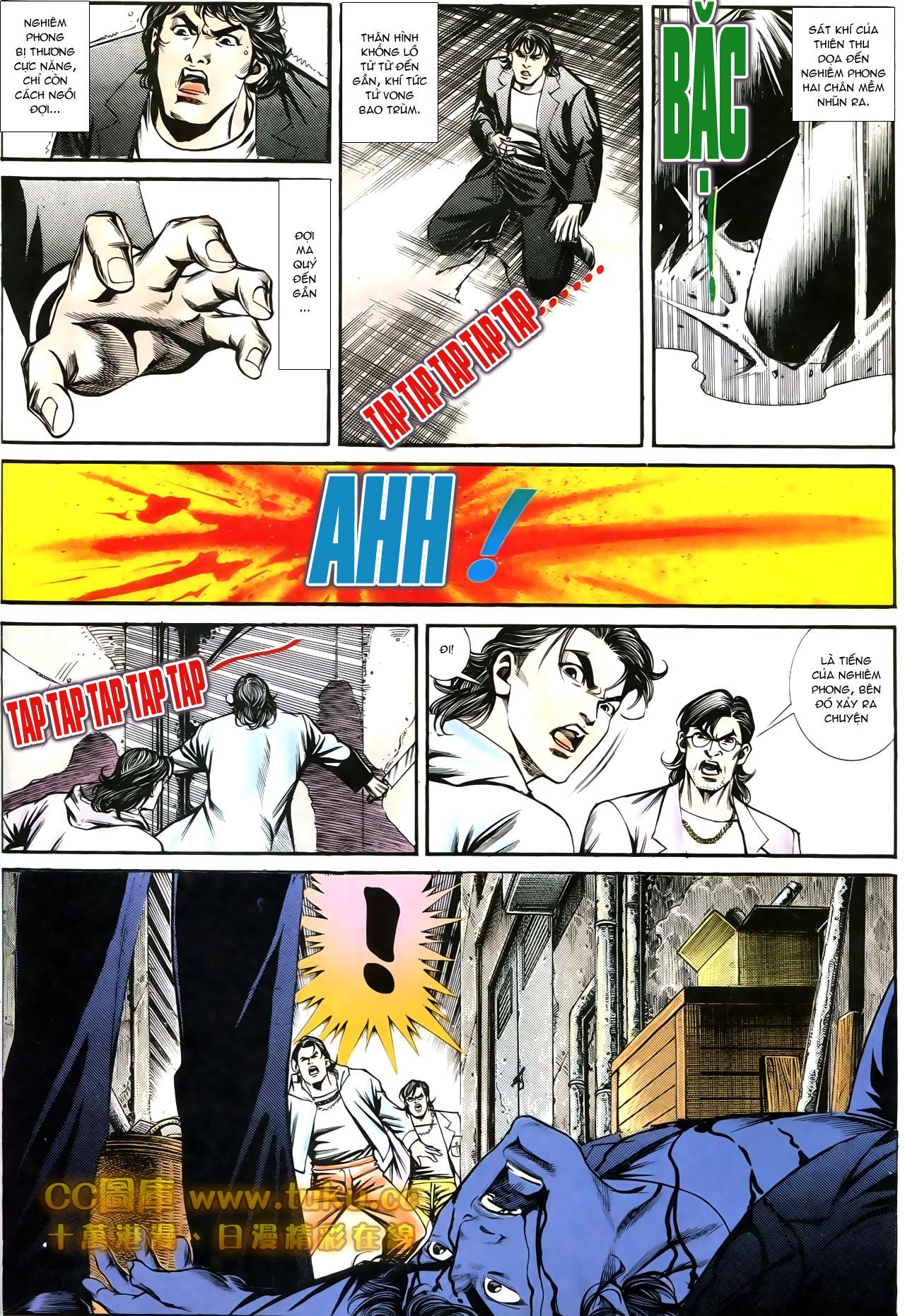 Người Trong Giang Hồ chapter 197: quạ đen báo thù trang 18