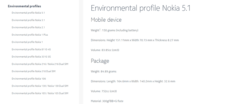 HMD Global cares, shares environmental profile of Nokia phones
