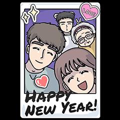 [BIG] Lousy GF Year-End Stickers