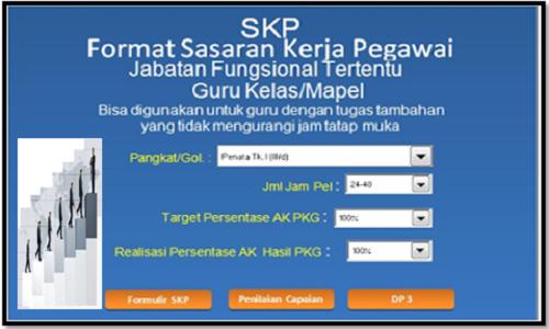 Aplikasi SKP Kenaikan Pangkat Guru PNS Terbaru
