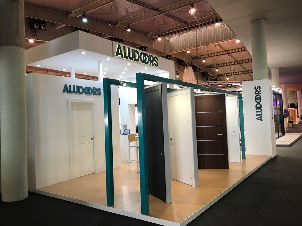 Aludoors Puerta De Interior En Aluminio Carpinter A Met Lica Lozano