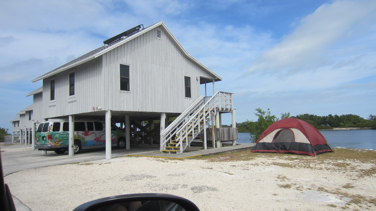Sleeps two the four state park campgrounds florida keys for Florida state parks cabins
