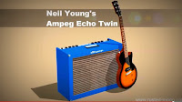 Neil Youngs Ampeg Echo Twin ET-1