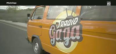 furgoneta radio gaga