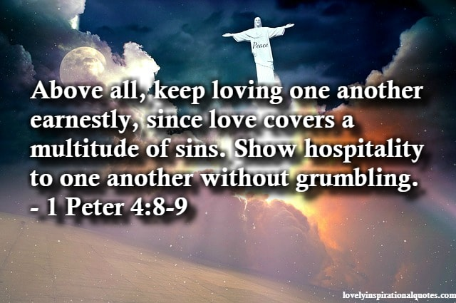 bible verses on love for others