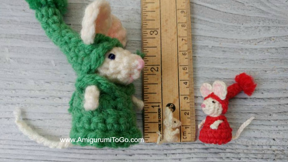 Amigurumi Catnip Mouse Free Pattern and Video | 521x926