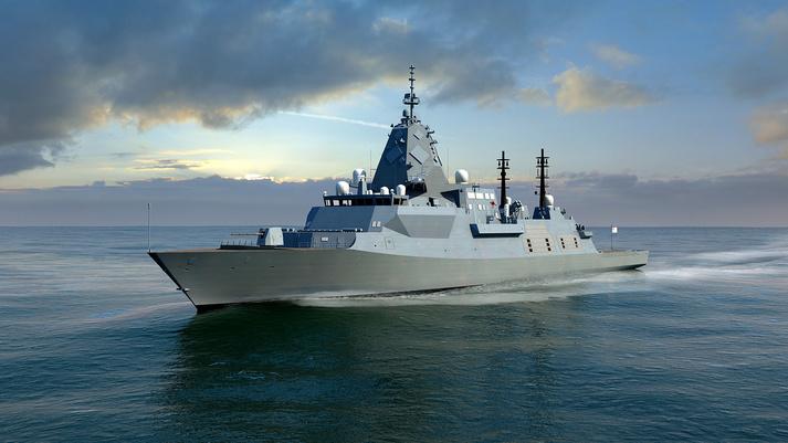 الفرقاطة البريطانية الاحدث Global Combat Ship Type 26   2018121413