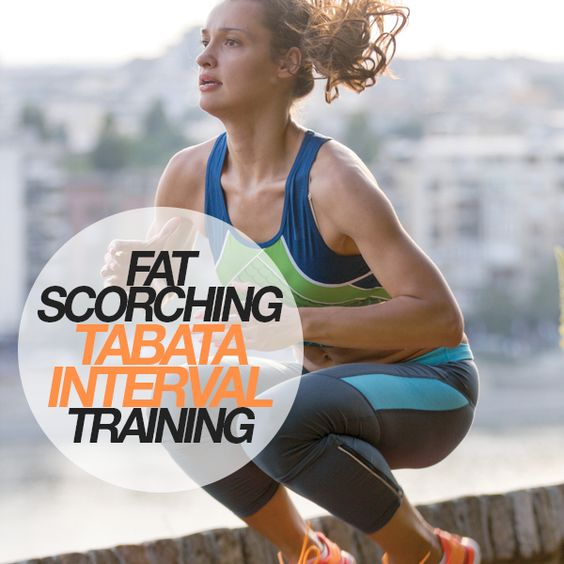 Fat Scorching Tabata Interval Training