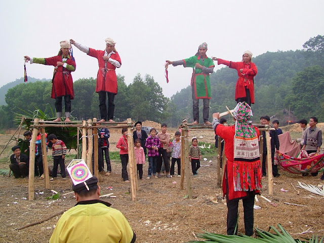 Cap Sac festival of Dao people in Ha Giang 1