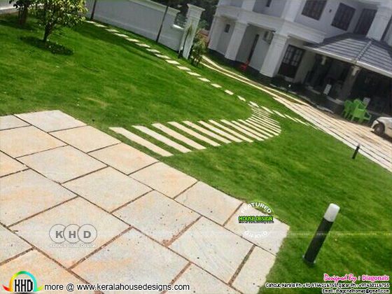 Landscaping designs by Diagonals