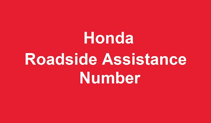 Honda Roadside Assistance Number 2021