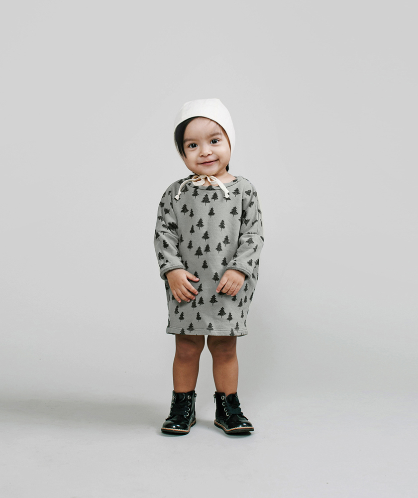 Rylee + Cru AW16 collection - trees baby dress