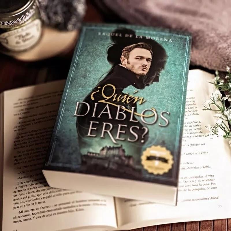Foto del libro ¿Quién diablos eres? de la autora Raquel de la Morena