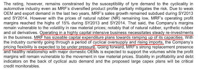 Analysis equity research report of MRF Ltd, the largest tyre manufacturer in India, OEM, Replacement Market