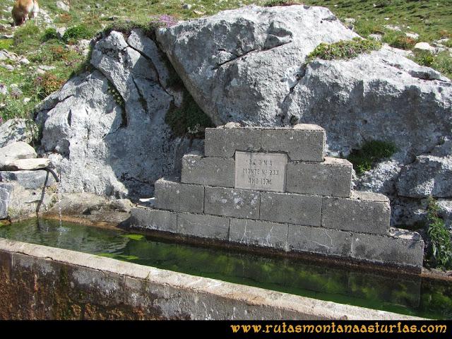 Ruta Tuiza - Portillín - Fontanes: Fuente del Icona