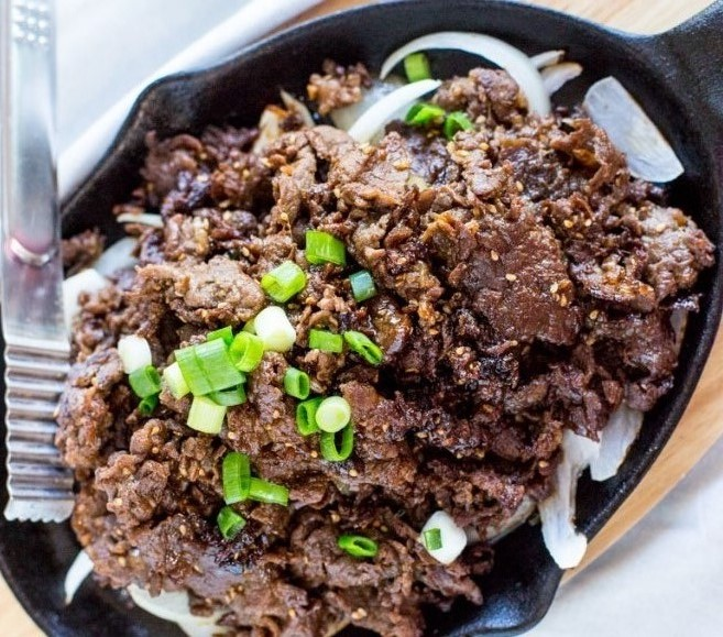 Bulgogi - Authentic Korean Beef BBQ #Asianfood #Beef