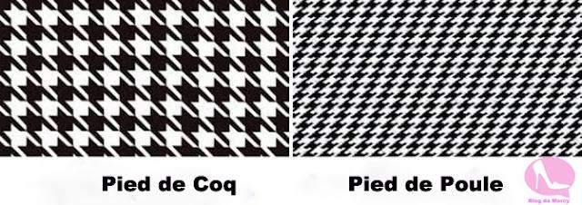 Pied de Poule/ Pied de Coq