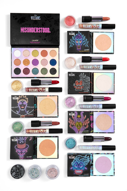 Disney Villians x Colourpop Collection