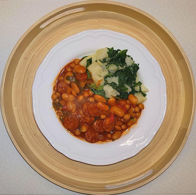 Chickpea & Chorizo Stew