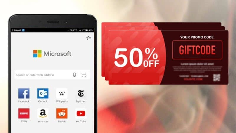 Shopping experience in Microsoft Edge on Android gets easier with built-in coupon and price comparison tool